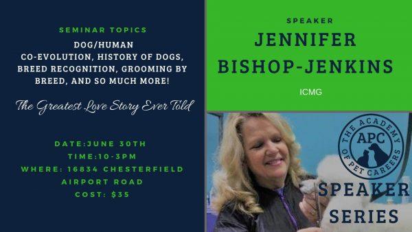 Jennifer Bishop-Jenkins 2, The Academy of Pet Careers