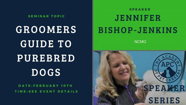 Jennifer Bishop-Jenkins, Groomers Guide To Purebred Dogs, The Academy of Pet Careers